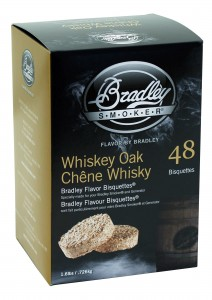 Brykiety do wędzenia Bradley Smoker Whiskey Oak 48